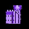 Castle_Bottom_Back_Right.stl Download free STL file Castle Dedede - Amiibo Prop • 3D printable object, ChrisBobo