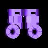 Arm_Right_03_Black.stl Download STL file Heavy Gun Walker • 3D print design, Jwoong