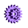 20mmGear.stl Download free STL file Crazy Cogs - Gear Play Set • 3D printer template, PapaBravo