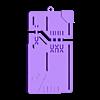 EX RAID PASS.STL Descargar archivo STL Llavero de la Pokemon EX raid pass • Plan para la impresión en 3D, 3DPrintersaur