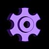 Handrad.stl Télécharger fichier STL gratuit poignée pour les écrous et vis M6 • Objet imprimable en 3D, pgraaff