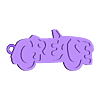 grease_key_fixed.stl Télécharger fichier STL gratuit Porte-clés graisseur • Plan imprimable en 3D, 3dlito