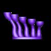 tealight_holder_v2_part_1.stl Télécharger fichier STL gratuit Porte-bougie à chauffe-plat • Design pour imprimante 3D, poblocki1982