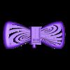 TardisBowtieUPDATEDOctober09.stl Télécharger fichier STL gratuit Noeud papillon avec bouton du Tardis • Modèle pour impression 3D, Chanrasp