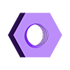 nut_for_mounting_knob.stl Download free STL file Planter Handle • 3D printer design, leothemakerprince