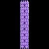 T-34-76 - tracks-with-rods_NARROW_x16.stl Télécharger fichier STL T-34/76 pour l'assemblage, avec voies mobiles • Objet pour imprimante 3D, c47