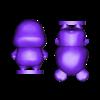 hamphrey split.stl Download free STL file Hamster - Animal Crossing • Object to 3D print, skelei