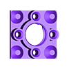 BH1.stl Télécharger fichier STL gratuit Remix du support de roulement IQBX • Modèle à imprimer en 3D, SiberK