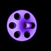 Baczek_2A.stl Download free STL file Spinning top (pseudo dual-color) • 3D print model, kpawel