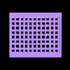 "LCD10FrameBackSquares.STL Download free STL file LCD 10.1"" case • 3D printable template, victor999"