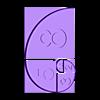 golden_ratio.stl Download free STL file Golden Ratio and Fibonacci's Sequence • 3D print model, Caghon3d