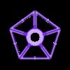GD Upper Pentagon.stl Descargar archivo STL Esfera geodésica de sombra de lámpara • Plan para la impresión en 3D, 3DPrintProjectAthens