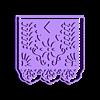 Part2.STL Télécharger fichier STL gratuit JEU DE 2 COUPE-PAPIERS / COUPE-BISCUITS MEXICAINS • Plan à imprimer en 3D, icepro10