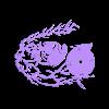 cooper_clock_fixed.stl Télécharger fichier STL gratuit Reloj Alice Cooper • Modèle imprimable en 3D, 3dlito