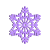SnowFlake.STL Download free STL file Snowflake • 3D printable object, Jeyill3