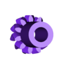 MoonGear11T.stl Télécharger fichier SCAD gratuit Planétarium mécanique • Plan pour impression 3D, Zippityboomba