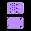 STEMMA-Lego-1.3-oled.stl Download free STL file STEMMA Lego Base Plate • 3D printable model, Adafruit