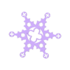 GothicSnowflake.STL Download free STL file Gothic Snowflakes • 3D printer template, Jeyill3