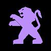 peugot-lew.stl Télécharger fichier STL gratuit Logo Peugot • Design pour imprimante 3D, olo2000pm