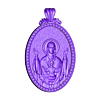 mother mery and jesus pendant medalion jewelry.obj Download free OBJ file Mother mery and jesus pendant medalion jewelry • 3D printable object, Cadagency