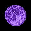 moneda.stl Télécharger fichier STL gratuit Moneda Alejandro Magno • Design imprimable en 3D, 3dlito