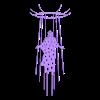 JesusAscending.stl Download free STL file Jesus Ascending 2D • 3D printing template, miguelonmex