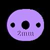tg-cale_2mm.stl Télécharger fichier STL gratuit Geeetech Prusa i3 Pro B - Kit de migration E3Dv6 • Design pour impression 3D, abojpc