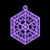 Ornament_A.stl Télécharger fichier OBJ gratuit Quatre ornements inspirés du vitrail • Design pour imprimante 3D, Not3dred