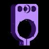 52mm_Spindle_Holder_V2.STL Download free STL file CNC Router 3018 Pro 52mm Spindle / 40mm Laser Upgrade • 3D print template, fastkite