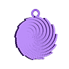 fermat_cylinder_pendantflat_loop.stl Download free STL file H1-H0's Jewelry • 3D print template, leothemakerprince