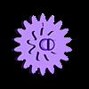 Planet Gear.STL Télécharger fichier STL gratuit Pendentif d'engrenage planétaire/Key Ring • Plan pour impression 3D, HC3DPrints