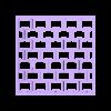rejilla.stl Download STL file Texturizers for Porcelain / Cakes / Cookies • 3D printer template, Ushuaia3D