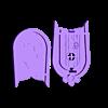 DFrontBack_.stl Download free STL file Gipsy Wagon 28 mm (Darkest Dungeon tribute) for 3D printing • 3D printer template, Alfarabius