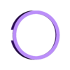 contorno.STL Télécharger fichier STL gratuit Lampe à leds avec lettres • Objet pour impression 3D, JPool