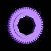EarthGearIn47T.stl Télécharger fichier SCAD gratuit Planétarium mécanique • Plan pour impression 3D, Zippityboomba
