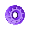 tyreSPNR.stl Download free STL file fat tire or gear spinner • 3D printer design, hitchabout