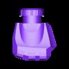 Hand_Right_OliveGreen.stl Download STL file Heavy Gun Walker • 3D print design, Jwoong