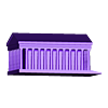 Madeleine.STL Télécharger fichier STL gratuit Bâtiments célèbres de paris • Design pour imprimante 3D, leFabShop