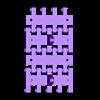T-34-76 - tracks-with-rods_WIDE_x4.stl Télécharger fichier STL T-34/76 pour l'assemblage, avec voies mobiles • Objet pour imprimante 3D, c47