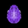 Easter_Egg_8-2020.stl Télécharger fichier STL gratuit Collection d'œufs de Pâques en résine 2 • Plan à imprimer en 3D, ChrisBobo