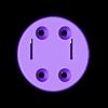 Somfy_Motor_Bracket_Adapter_Roll-Up28.stl Download free STL file Somfy Motor Bracket Adapter Roll-Up 28 • 3D printing object, kis79