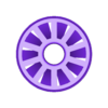 sproket_spinner_innerfan.stl Download free STL file sprocket spinner • Template to 3D print, hitchabout