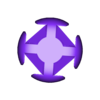 OctaV0dot4mmLoose.stl Download free STL file Make Your Own Platonic Octahedron, Snap • Model to 3D print, LGBU