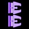 53_Drag_Leg4_ThighSide1_BLACK.stl Download STL file ARTICULATED DRAGONLORD (not Dragonzord) - NO SUPPORT • 3D printer model, Toymakr3D