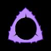 CIRCLE Triangle-Dent flexipick 1'15 07.stl Download free STL file Triangle-Dent Circle'Piramidal - Electric Guitar Stick & Bass • 3D printer template, carleslluisar
