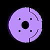central_cross_patch.stl Télécharger fichier STL gratuit AR Drone Patch Croix centrale de bourdon • Modèle pour impression 3D, Reshea