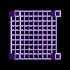 A_square_holder_table.stl Télécharger fichier SCAD gratuit Une table à support carré • Design pour impression 3D, hsiehty