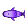 Mama_Whale_Body.stl Download free STL file Blue Whale Mama & Baby • 3D printing object, 3DPrintProjectAthens