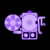 ASSY-portareel.stl Download free STL file PortaReel Portable Fishing Pole • 3D printable model, mechengineermike