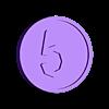 5_cents.stl Download free STL file Free Money! • 3D printer template, Balkhnarb